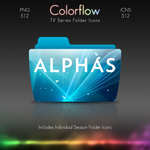 Colorflow TV Folder Icons: Alphas by Crazyfool16