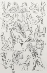 Figure Drawing + Action Poses by dou-hong