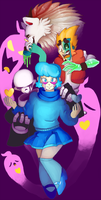 Mystery Skulls by Half-finished