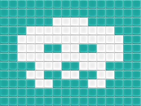 Space Invader Tiled by drsparc