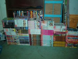 My Manga  Collection by Tanime-chan