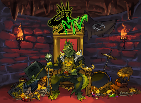 Throne of Rex! by AxlReigns