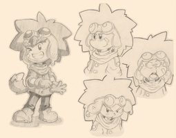 Gene Concept Sketches by Air-City