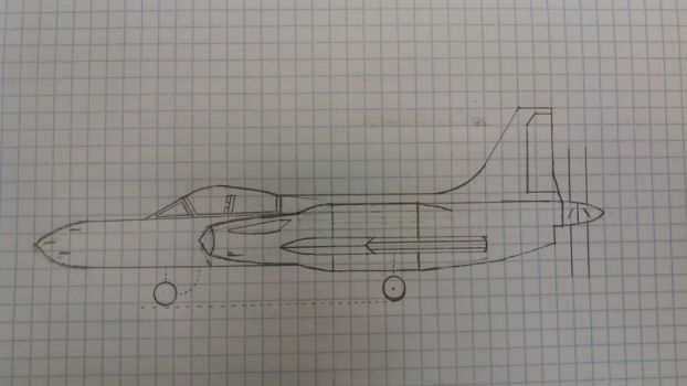 Supermarine Type33A4 Skyfox ASSF _side view by Texas-Red-Wolf