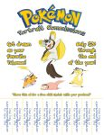 Pokemon Portrait Commissions Flyer by EJSCreations