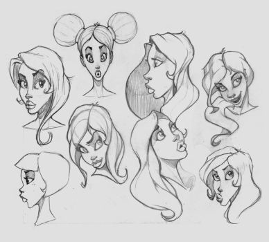 MoreFacePractice 0813 by risingson16