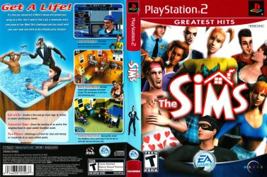 The Sims Boxart (PS2) by dakotaatokad