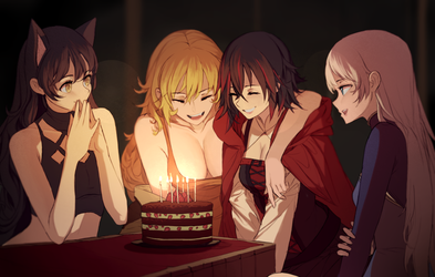 Birthday girl by dishwasher1910