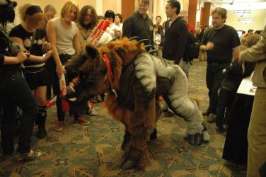 Toby the Targ at CCEE 2009 by Beetlecat