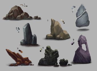 Rocks Stuff by ShadowOfSunshine