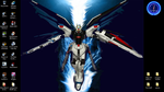 strike freedom gundam my laptop wallpaper by zhenghwang