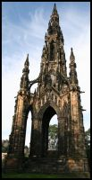 Scott Monument by Andy-Stewart