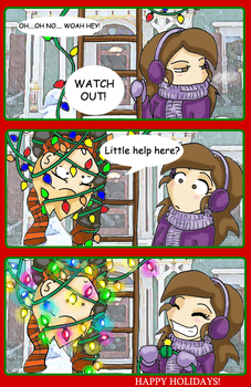 holiday help by AceroTiburon