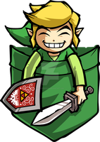 Happy Pocket Link by Purrdemonium