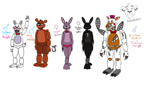 FNaF Adoptables [Ships themed.] Closed by weirdlioness