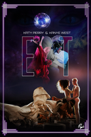 Katy Perry - E.T. (ft. Kanye West) Poster by Panchecco