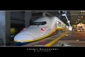 Lonely Shinkansen by Keith-Killer