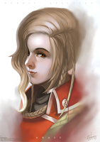Anait portrait by NightmareGK13