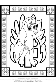 BroniesForGood OC Poster No Colour by StryKariSPEEDER