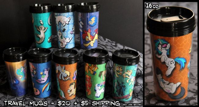 Travel Mugs Promo! by SpainFischer
