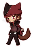Chibi Commission -  Iprie (1) by XAngelFeatherX
