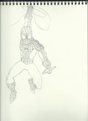 Spiderman for Braden Lines WIP by thebingbang