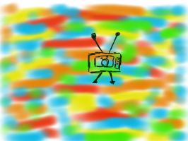 TV robot by joedimino