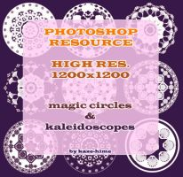 Resource: HQ Kaleidoscopes by Kaze-Hime