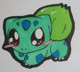 Bulbasaur- Large by Eevee4Ever