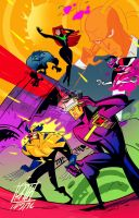 The x men by BOTAGAINSTHUMANITY