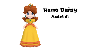 [MMD] Nano Princess Daisy (model download) by VOCAD