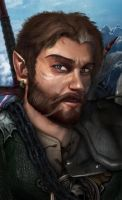 Baldurs Gate: Shadows of Arm- Character Portrait. by Sirick-J-Griffardo