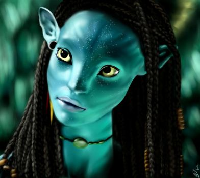 Neytiri by Shinychocolatefrog