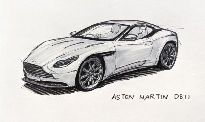 Aston Martin DB11 by Hunternif