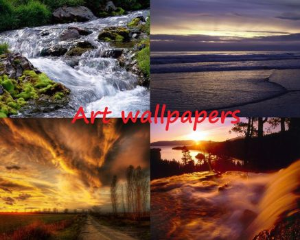 Landscapes wallpapers by macrosoftware