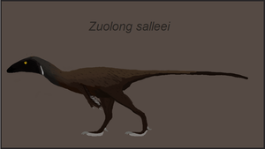 Zuolong salleei by casielles