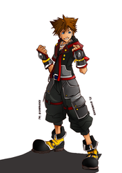 Sora is ready by Sandra-delaIglesia