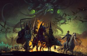 Four Horsemen of the Apocalypse by bayardwu