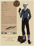 Character sheet - Mewen by Crimi-Azna