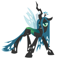 Queen Chrysalis Vector by Racefox