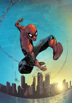 Spidey! Pin Up Colors by spidey0318