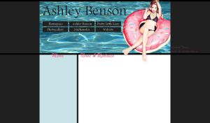 Free layout #10 - Ashley Benson by JulieKrocova