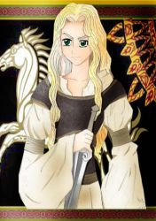 Eowyn color by Asphil