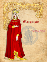 Duchess Margaret of Austria by Pelycosaur24