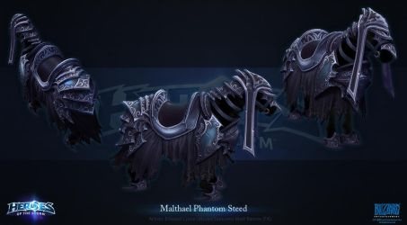 Malthael Steed by Azetlor