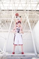 Kuroko reaches the sky xD by Zabisco