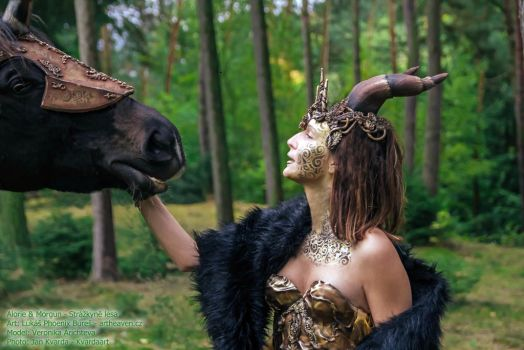 Bodyart Forest guardian by KilledCZ