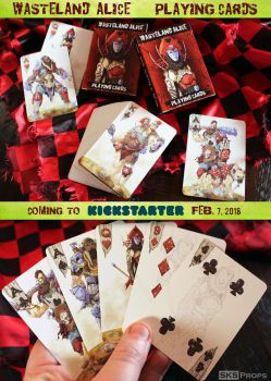 Wasteland Alice Playing Cards - Kickstarter Promo by SKSProps