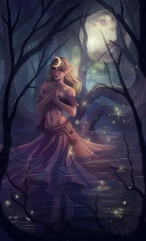 Lua in the Drowned Forest by Kyatia