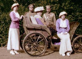 The Romanovs on a Picnic by KraljAleksandar